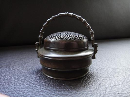 銅製手暖爐