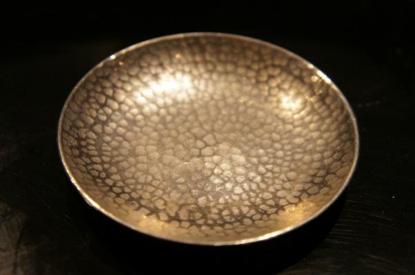 錫製手工打造茶托