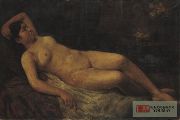 李梅樹 裸女