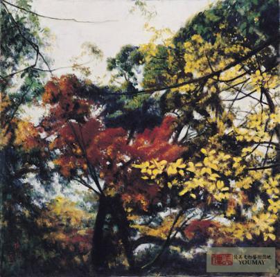 李梅樹 秋到樹梢