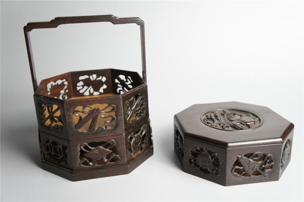 硬木多層盒